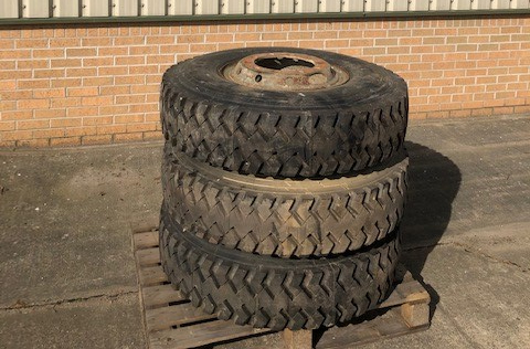 military vehicles for sale - Michelin 12.00R20 XZB (Unused Spare Wheels on Rims)