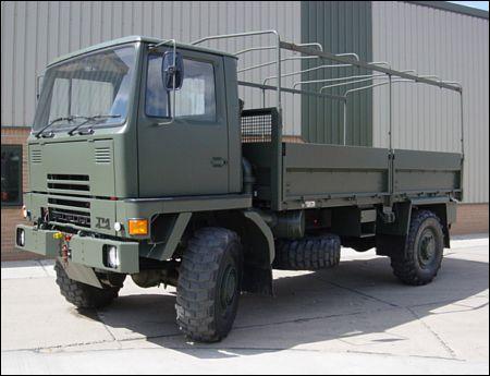 Bedford TM 4x4 Drop Side Cargo - ex military vehicles for sale, mod surplus