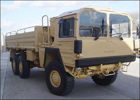 MAN 453 6x6 Tipper Truck