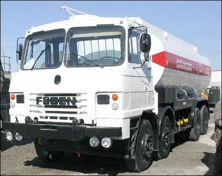 Foden 8x4 Tanker Truck - ex military vehicles for sale, mod surplus
