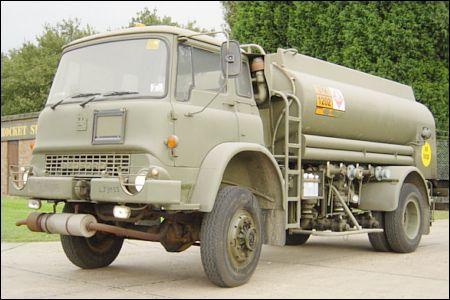 Bedford MJR 4x4 Tanker Truck - ex military vehicles for sale, mod surplus