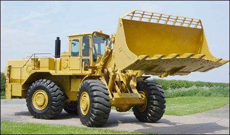 Terex 72-71B Wheeled Loading Shovel - ex military vehicles for sale, mod surplus