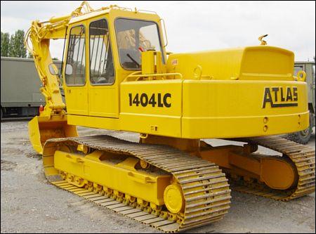 Atlas 1404LC Tracked Excavator