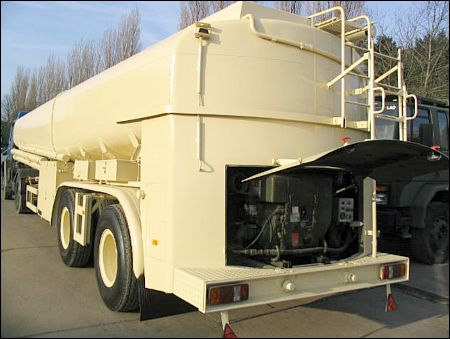 military vehicles for sale - Aurepa 30,000ltr Bulk Fuel Tanker trailers