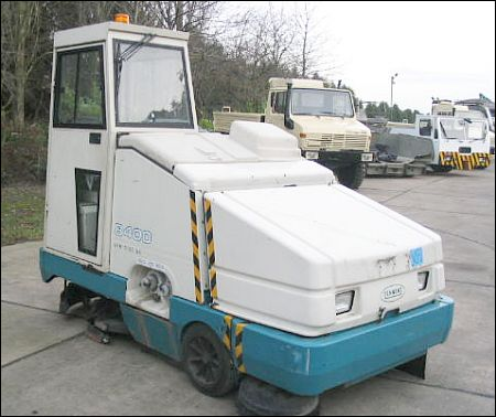 Tennant 8400 Sweeper - ex military vehicles for sale, mod surplus