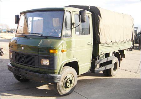 Mercedes Benz 508D Light cargo truck - ex military vehicles for sale, mod surplus