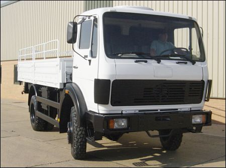 Mercedes 1017A 4x2 Drop Side Cargo Truck - ex military vehicles for sale, mod surplus