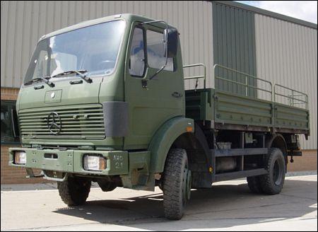 Mercedes 1017A 4x2 Drop Side Cargo Truck