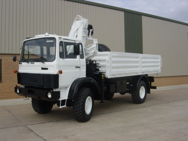 military vehicles for sale - Iveco 110-16 4x4 crane truck