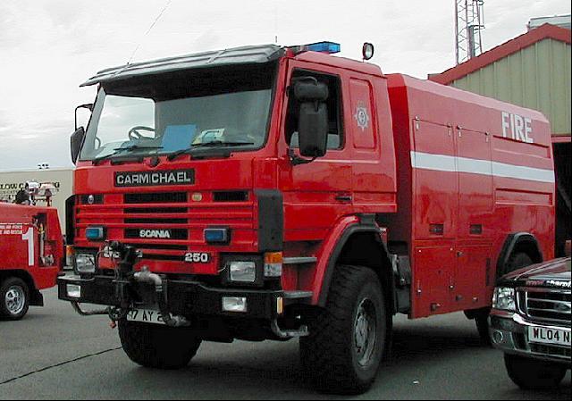 Scania 4x4 RIV (Ex Queens Flight) Fire Appliance - ex military vehicles for sale, mod surplus