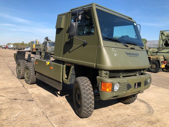 MoD Surplus, ex army military vehicles for sale - Mowag Duro II 6x6 Chassis Cab