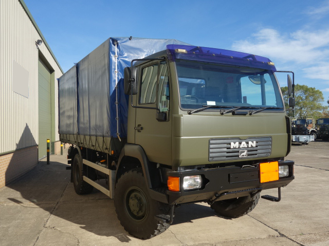 military vehicles for sale - MAN 10.185 4x4 Cargo Truck