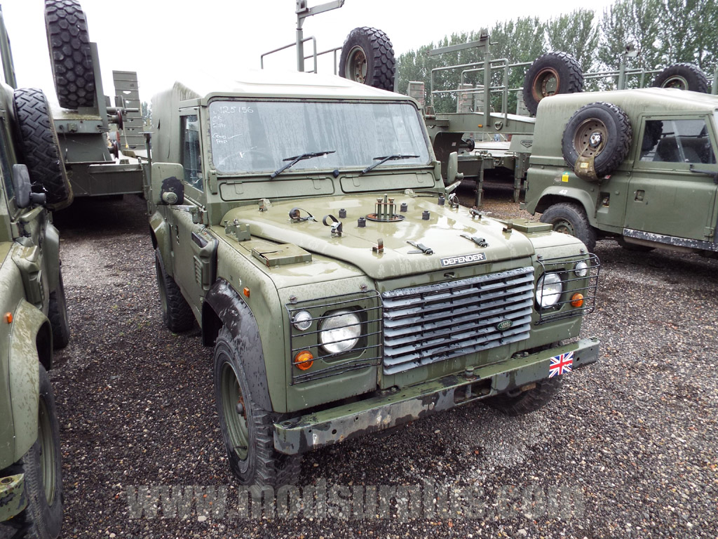 MoD Surplus, ex army military vehicles for sale - Land Rover Defender 90 Wolf RHD Hard Top (Remus)