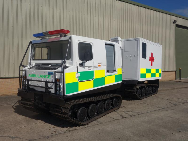 Hagglunds Bv206 Ambulance - ex military vehicles for sale, mod surplus