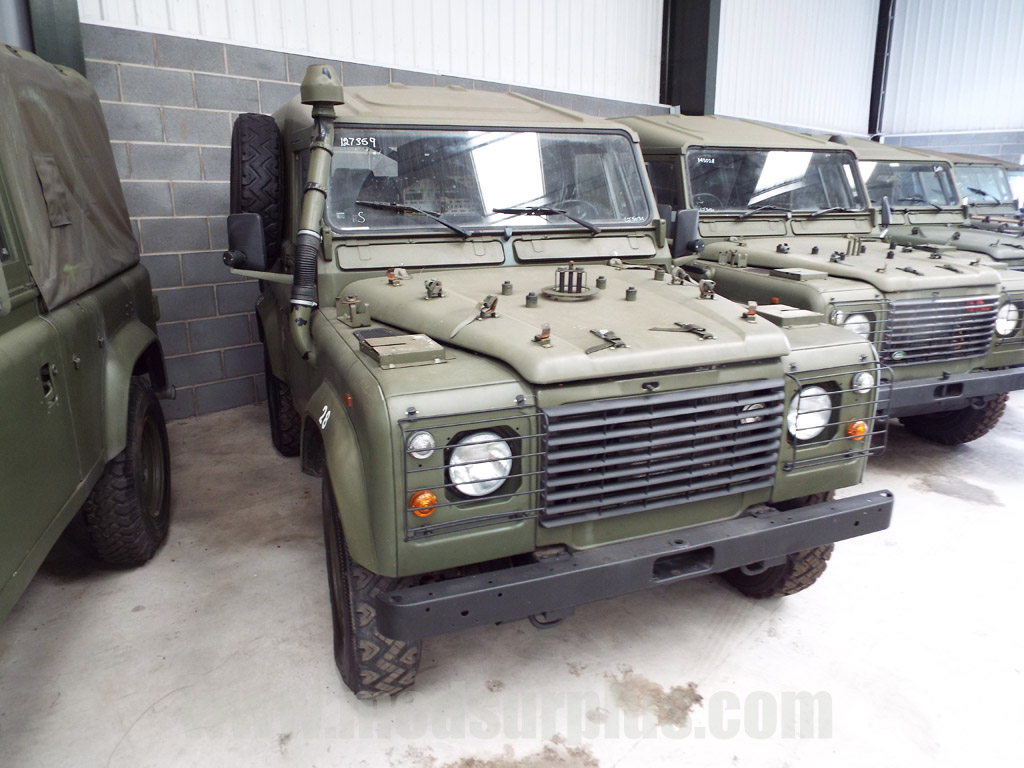 MoD Surplus, ex army military vehicles for sale - Land Rover Defender 90 Wolf LHD Hard Top (Remus)