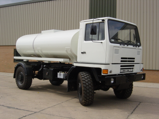 military vehicles for sale - Bedford TM 4x4 Tanker Truck