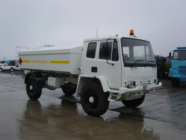MoD Surplus, ex army military vehicles for sale - Leyland Daf 45.150 4x4 Bunded Tanker Truck