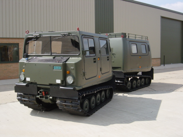 military vehicles for sale - Hagglunds Bv206 Personnel Carrier