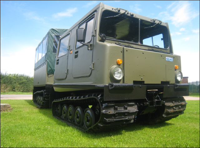 Hagglunds BV206 Shoot Vehicle - ex military vehicles for sale, mod surplus