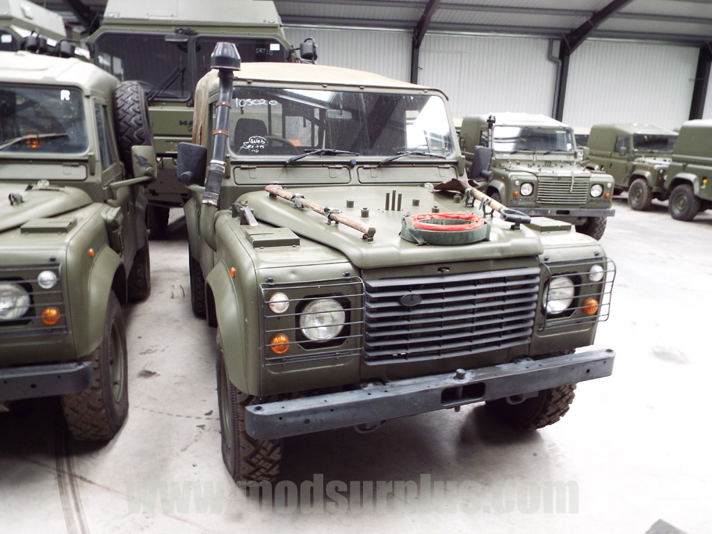 MoD Surplus, ex army military vehicles for sale - Land Rover Defender 90 Wolf RHD Soft Top (Remus)