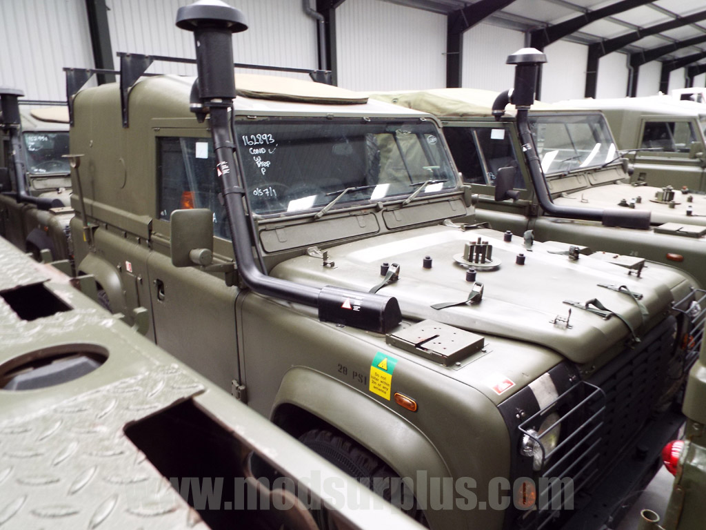 MoD Surplus, ex army military vehicles for sale - Land Rover Defender 90 RHD Wolf Winterized Hard Top (Remus)