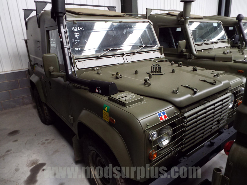 military vehicles for sale - Land Rover Defender 90 RHD Wolf Winterized Hard Top (Remus)