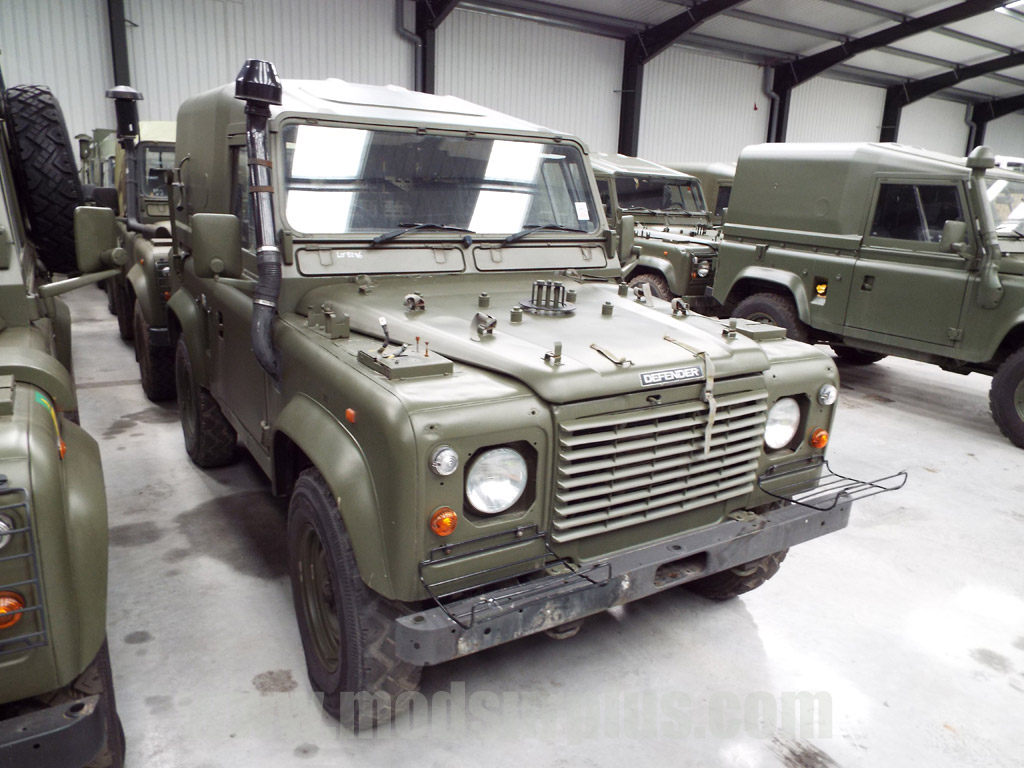 military vehicles for sale - Land Rover Defender 90 Wolf RHD Hard Top (Remus)