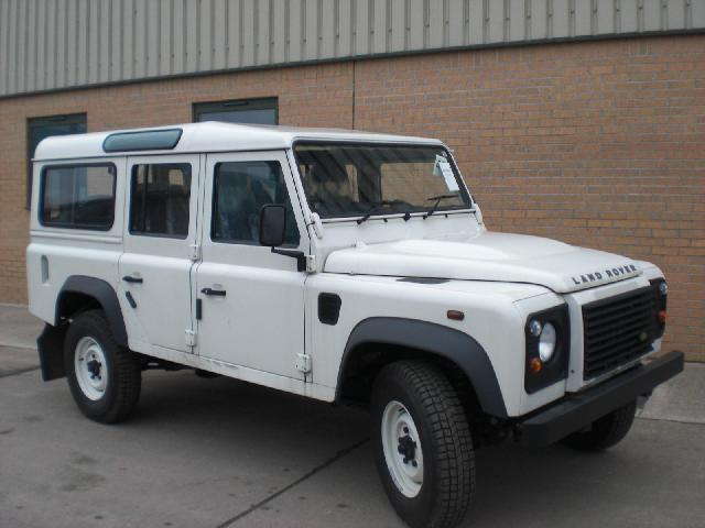 New Land Rover Defender 110 Station Wagon - ex military vehicles for sale, mod surplus