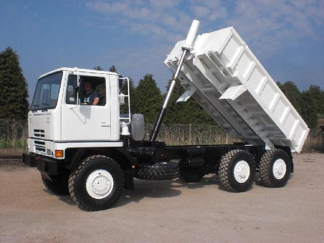 military vehicles for sale - Bedford TM 6x6 Tipper Truck