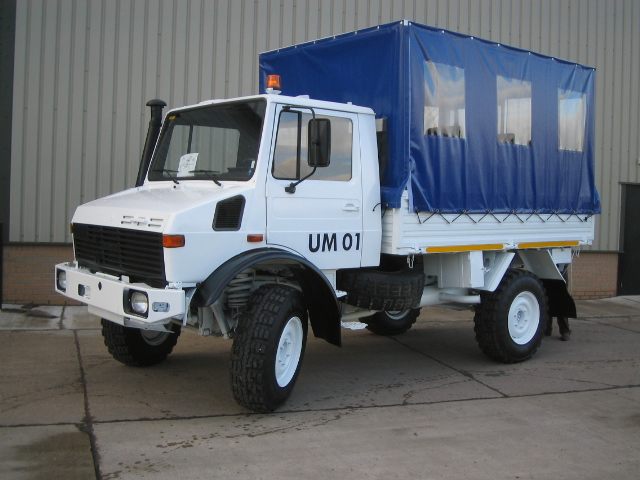 MoD Surplus, ex army military vehicles for sale - Mercedes unimog personnel carrier