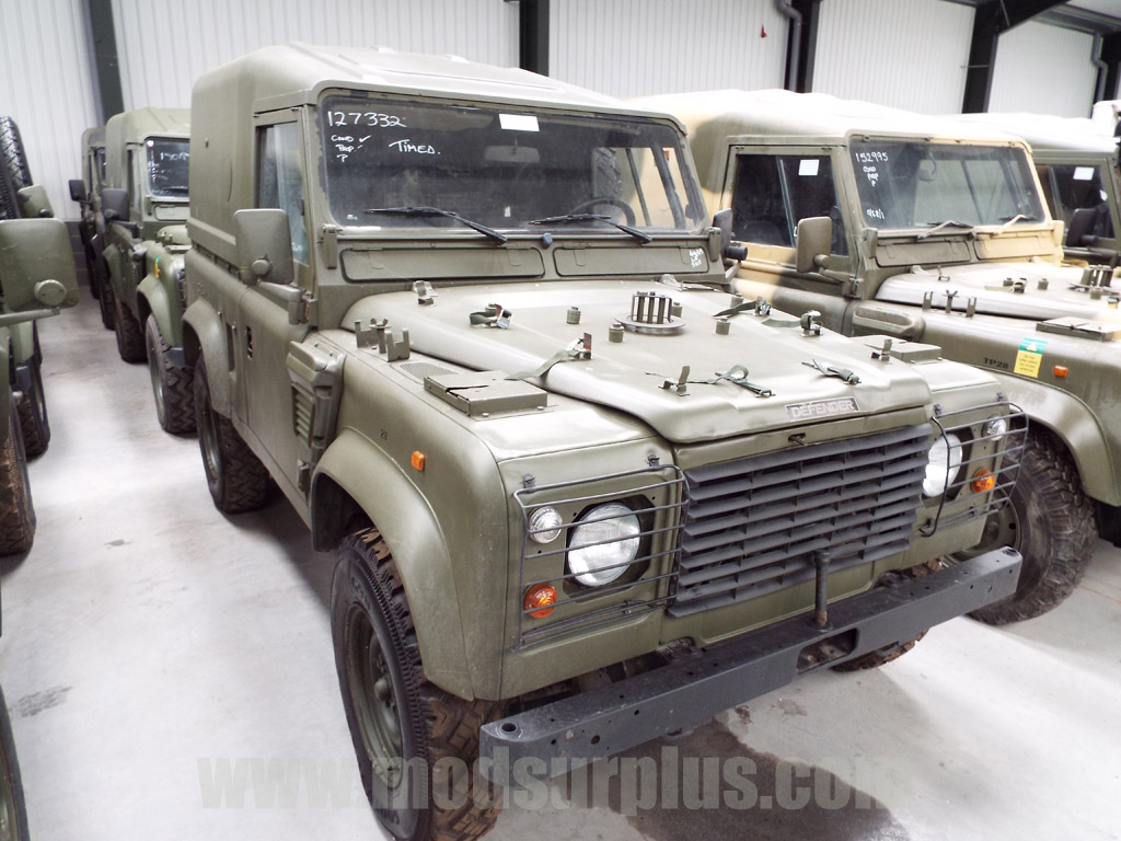 military vehicles for sale - Land Rover Defender 90 Wolf LHD Hard Top (Remus)
