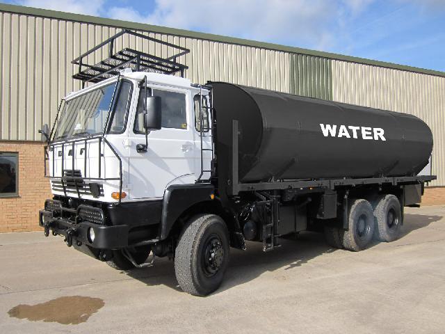 DAF2300 10,000L Tanker - ex military vehicles for sale, mod surplus