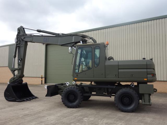 Caterpillar 318M Wheeled Excavator  - ex military vehicles for sale, mod surplus