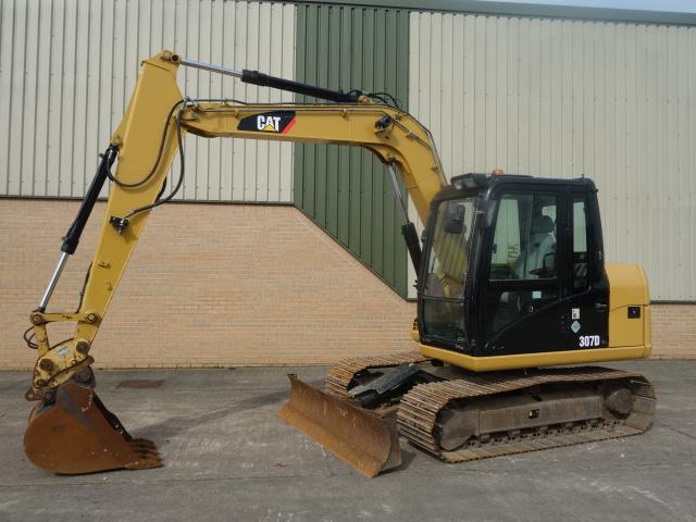 Caterpillar Tracked Excavator 307D - ex military vehicles for sale, mod surplus