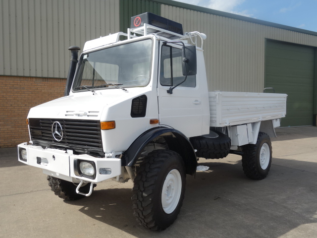 MoD Surplus, ex army military vehicles for sale - Mercedes Unimog U1300L Cargo with Aircon