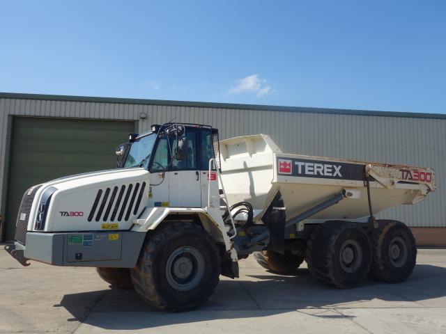 Terex TA300 Dumper 2012 - ex military vehicles for sale, mod surplus