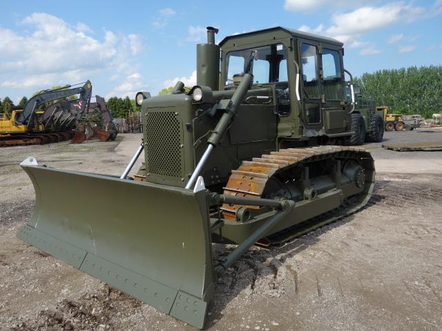 Caterpillar D6D dozer  - ex military vehicles for sale, mod surplus