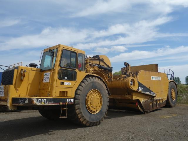 Caterpillar 657E Motor Scraper - ex military vehicles for sale, mod surplus