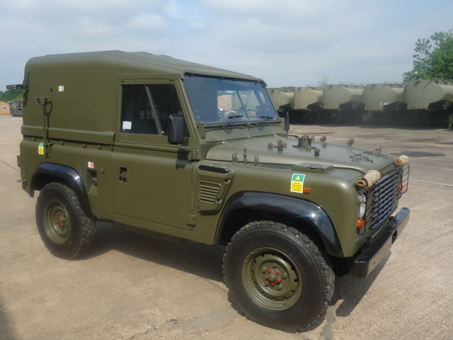 Land Rover Defender 90 Wolf Hard Top (Remus) - ex military vehicles for sale, mod surplus