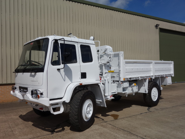 MoD Surplus, ex army military vehicles for sale - Leyland Daf Crane Truck