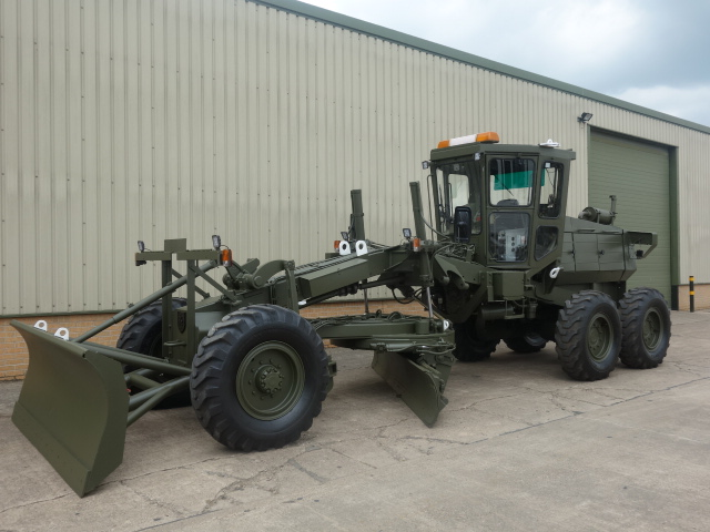 Aveling Barford ASG 113 6x6 Grader - ex military vehicles for sale, mod surplus