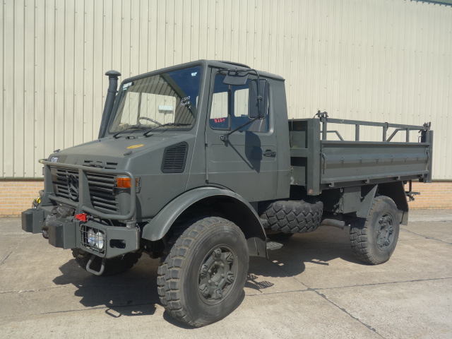 MoD Surplus, ex army military vehicles for sale - Mercedes Unimog U1300L Turbo RHD with winch