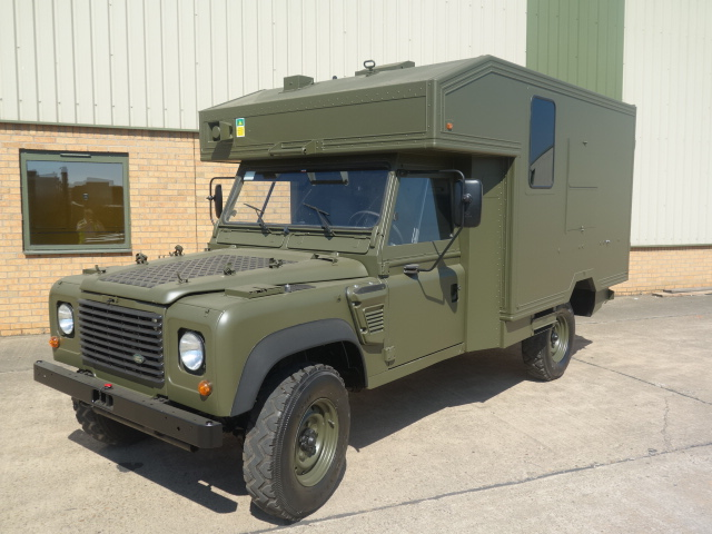 Land Rover Defender Wolf LHD Ambulance - ex military vehicles for sale, mod surplus