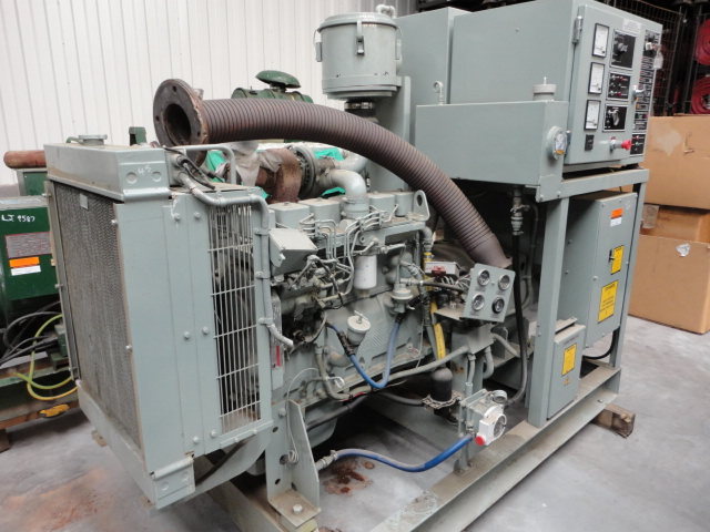 Puma 100 KVA generator - ex military vehicles for sale, mod surplus