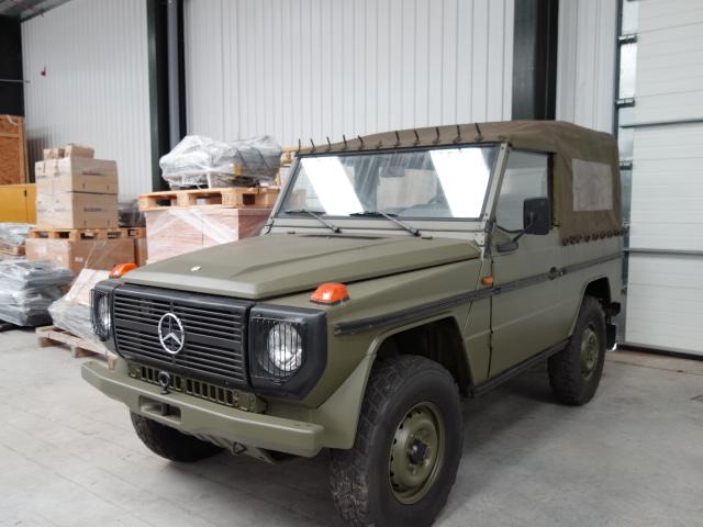 Mercedes Benz 240 G Wagon - SWB prepared (NATO Green) - ex military vehicles for sale, mod surplus