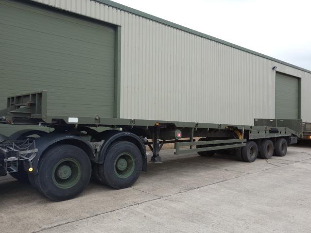 Oldbury Sliding Deck Recovery Trailer - ex military vehicles for sale, mod surplus