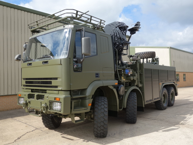 military vehicles for sale - Iveco 410E42 8x8 recovery truck