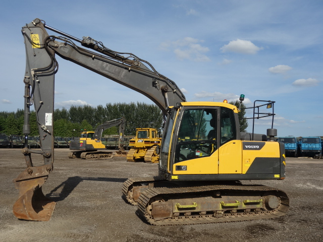 Volvo EC140 DL Excavator  - ex military vehicles for sale, mod surplus