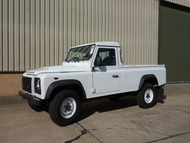 New Land rover 110 RHD pickup  - ex military vehicles for sale, mod surplus