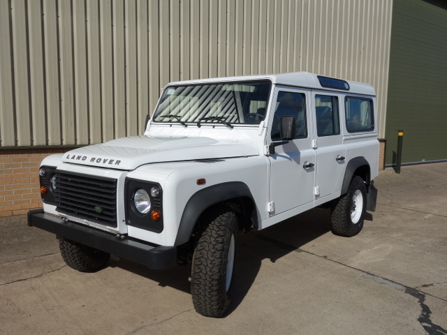 New Land rover 110 LHD station wagon - ex military vehicles for sale, mod surplus